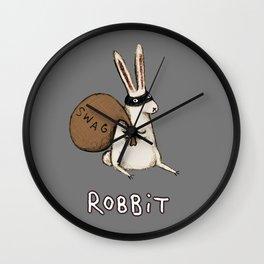 Robbit Wall Clock