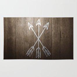 3 Cross Arrows Rug