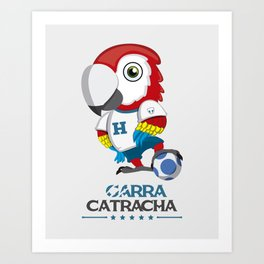 Garra Catracha Art Print