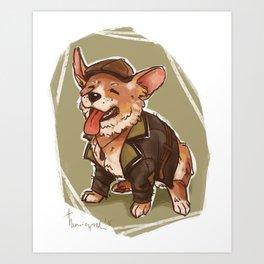 Corgi Jacob Frye Art Print