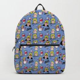 80s Mullet Pattern Backpack
