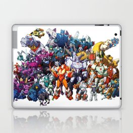 30 Days of Transformers - More Than Meets The Eye cast Laptop & iPad Skin