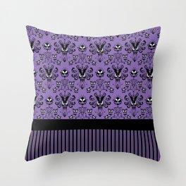 999 Happy Haunts - Servants Throw Pillow