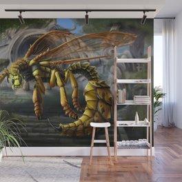 Dragon Wasp Wall Mural