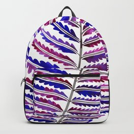 Fern Leaf – Indigo Palette Backpack