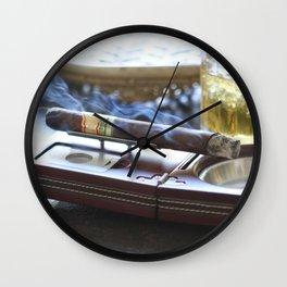 Cigar Time Wall Clock