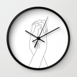 Never Let Me Go II Wall Clock