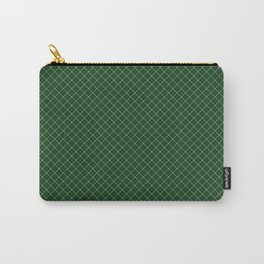 Green Scottish Fabric High Resolution Carry-All Pouch