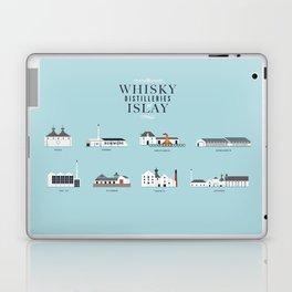 Whisky Distilleries of Islay Laptop & iPad Skin