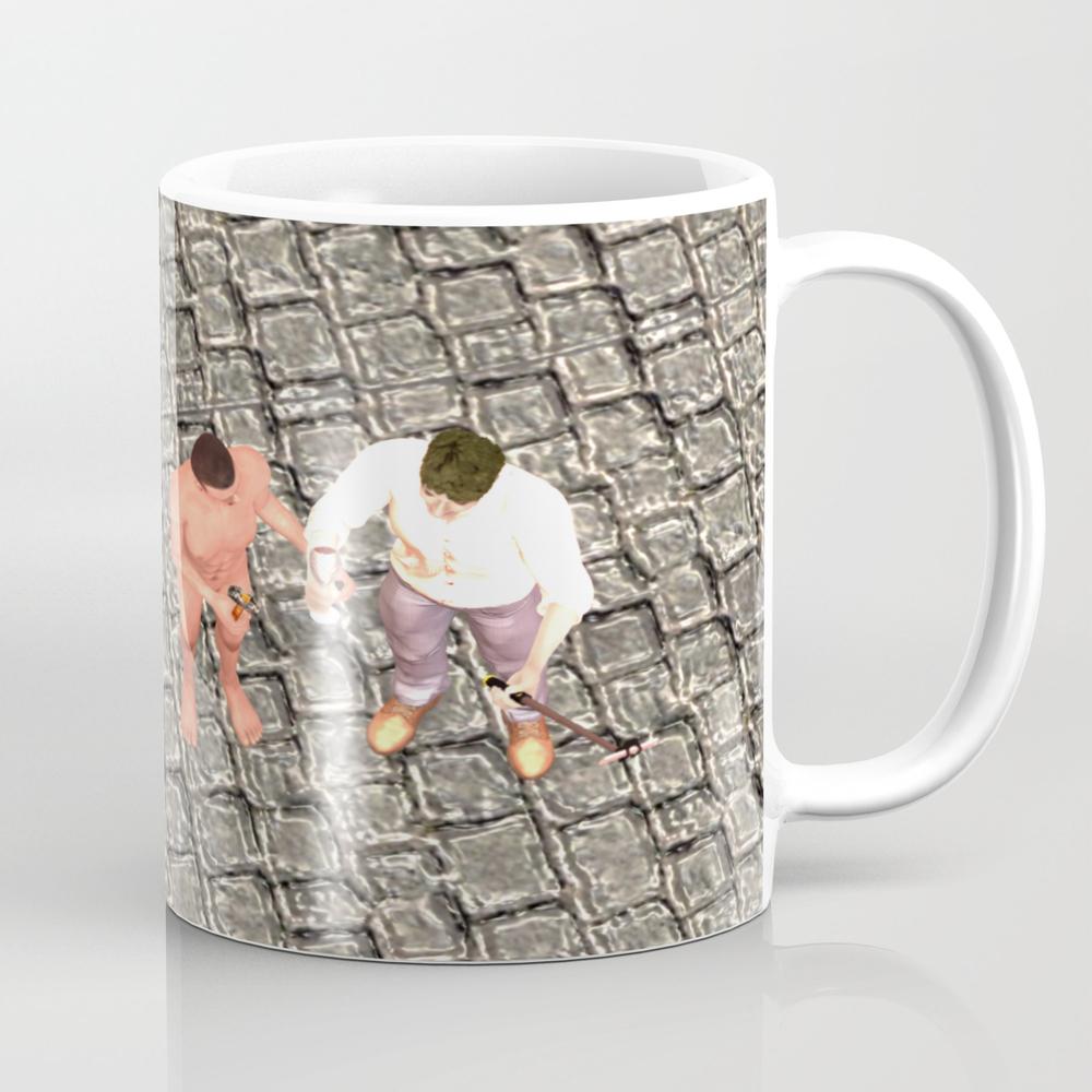 Squared: Three Of Us Tea Cup by Kosmopolites MUG9103228