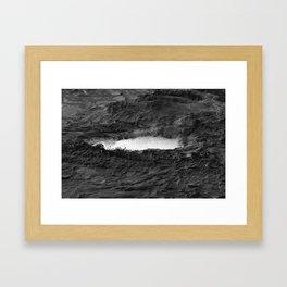 Gravity Well Framed Art Print