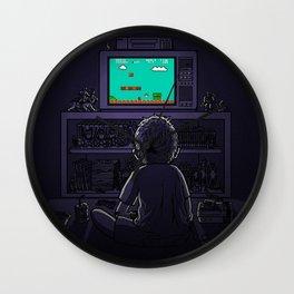 old mario game Wall Clock