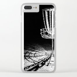 Disc Golf Chains Clear iPhone Case