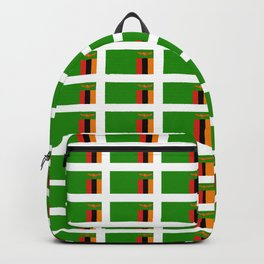 Flag of Zambia -Zambian,Rhodesia,Lusaka,Kitwe,Chipata Backpack
