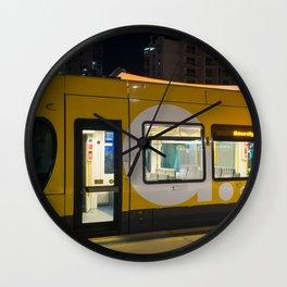 Light Rail Travel Wall Clock