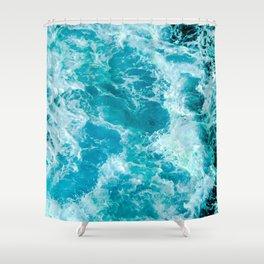 Sea Me Waving Shower Curtain
