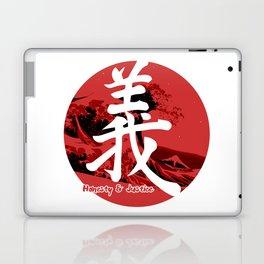 Gi - Honesty & Justice Laptop & iPad Skin
