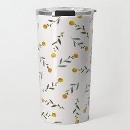 Yellow Knobs Travel Mug