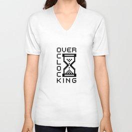 overclocking Unisex V-Neck