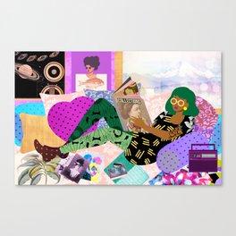 Lazy Sunday Canvas Print