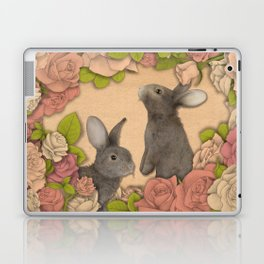 Rosie Rabbits Laptop & iPad Skin