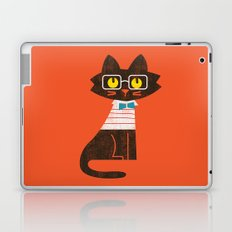Fitz - Preppy cat Laptop & iPad Skin