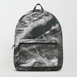 water stick abstract Backpack