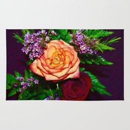 Radiant rose Rug