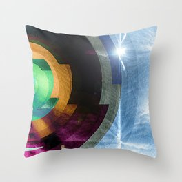 contacts Throw Pillow