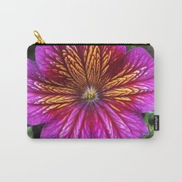 Purple Painted Tongue Carry-All Pouch