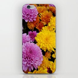 Bunches of Mums iPhone Skin