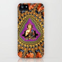 Buddha Mandelbrot Set iPhone Case