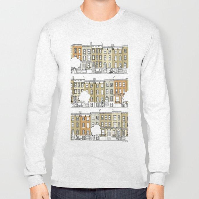 Brooklyn (color) Long Sleeve T-shirt