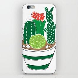 Cactii garden iPhone Skin