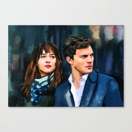 Fifty Shades of Grey Canvas Print