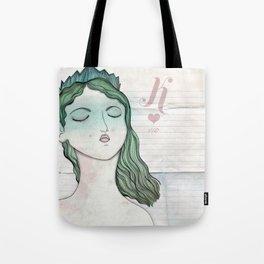 Reina de Corazones Tote Bag