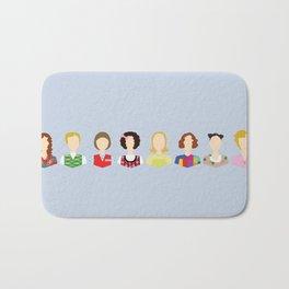 Kristen Wiig Character Print Bath Mat