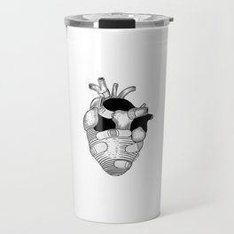 The strongest hearts have the most scars Travel Mug