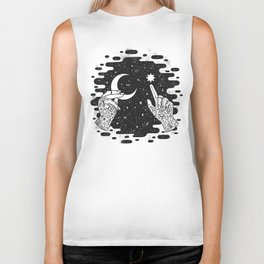Look to the Skies Biker Tank