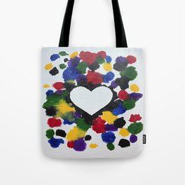 Willa Carnival Heart Tote Bag