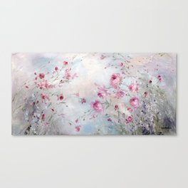 Rose Meadow Canvas Print