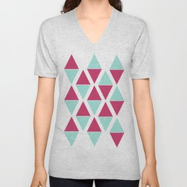 Diamonds Unisex V-Neck