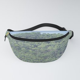 Forest of eucalyptus and pine trees Fanny Pack
