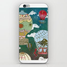 Hot Air Balloons I iPhone Skin