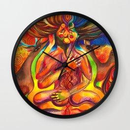 Shiva Shakti Wall Clock