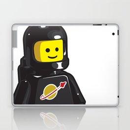 Vintage Black Spaceman Minifig Laptop & iPad Skin