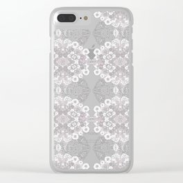 Most Sublime Lace Clear iPhone Case