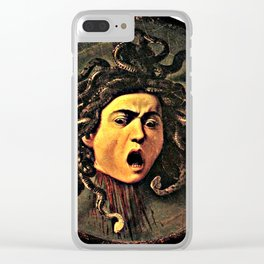 The Head of Medusa Clear iPhone Case