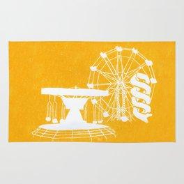 Seaside Fair in Yellow Rug
