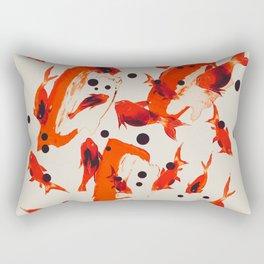 Gold Fish Rectangular Pillow